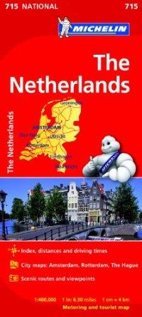 מפה MI הולנד 715