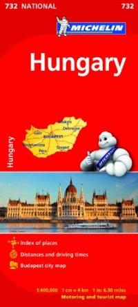 מפה MI הונגריה 732
