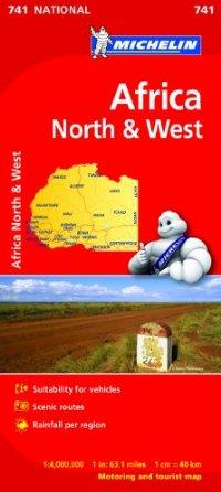 מפה MI אפריקה 741 צפון ומערב