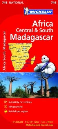 מפה MI אפריקה 746 מרכז ודרום, מדגסקר