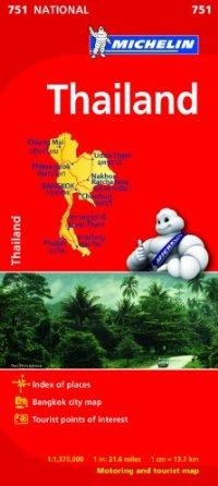 מפה MI תאילנד 751