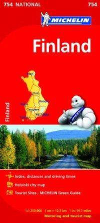 מפה MI פינלנד 754