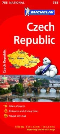 מפה MI צ'כיה 755