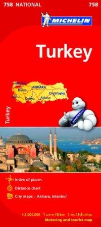 מפה MI טורקיה 758