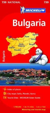 מפה MI בולגריה 739
