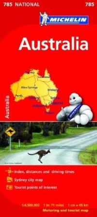 מפה MI אוסטרליה 785