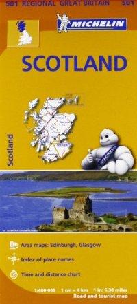 מפה MI בריטניה 501 400 סקוטלנד
