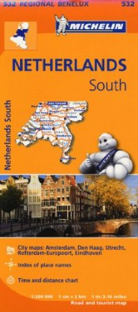 מפה MI הולנד דרום 532