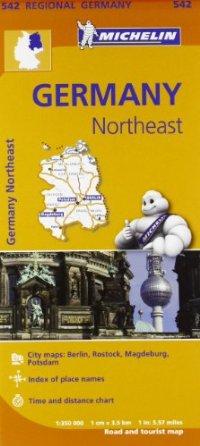 מפה MI גרמניה 542 צפון מזרח
