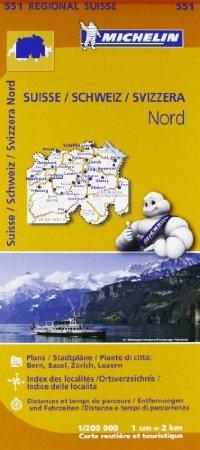 מפה MI שווייץ 200 צפון 551