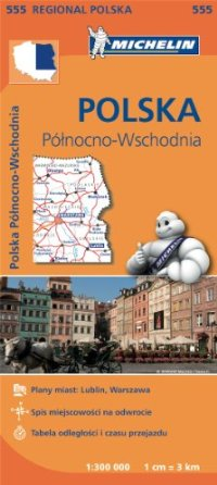 מפה MI פולין צפון מזרח 555