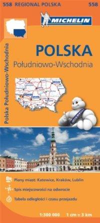 מפה MI פולין דרום מזרח 558