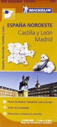 מפה MI ספרד 575 צפון - קסטייה א לאון, מדריד