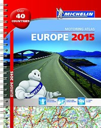 אטלס אירופה 1136 אטלס 2015 ספירלי A4