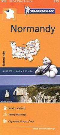 מפה MI צרפת 513 נורמאנדי