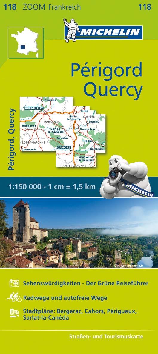 מפה MI צרפת 118 קורסי פריגור