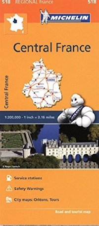 מפה MI צרפת 518 מרכז
