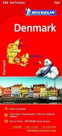 מפה MI דנמרק 749