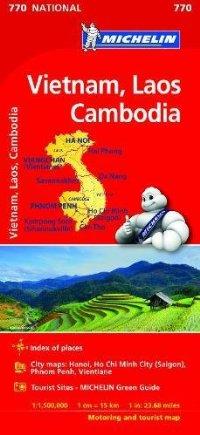 מפה MI ויטנאם, לאוס קמבודיה 770