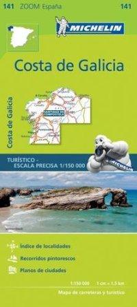 מפה MI ספרד זום 141 קוסטה דה גליסיה