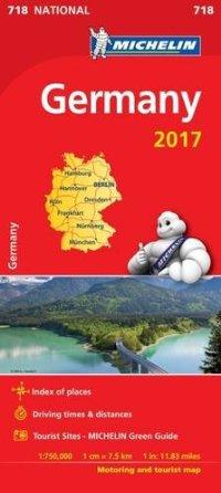 מפה MI גרמניה 718 2017