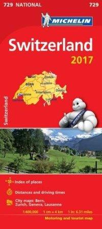 מפה MI שווייץ 729 2017
