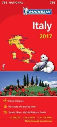 מפה MI איטליה 735 2017