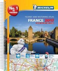 מפה MI צרפת 197 אטלס 2017 ספירלי A4