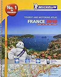 מפה MI צרפת 197 אטלס 2018 ספירלי A4