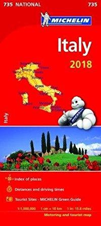 מפה MI איטליה 735 2018