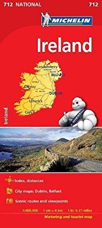 מפה MI אירלנד 712