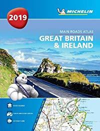 מפה MI בריטניה ואירלנד 1122 אטלס 2019 ספירלי A4