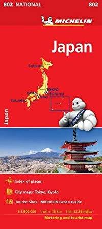 מפה MI יפן 802