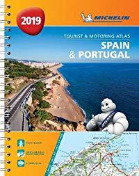 אטלס ספרד ופורטוגל 1460 2019 אטלס ספירלי A4