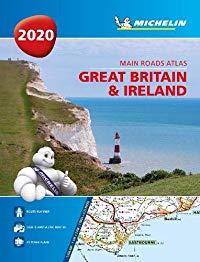 בריטניה ואירלנד 1122 אטלס 2020 ספירלי A4