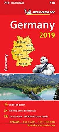 מפה MI גרמניה 718 2019