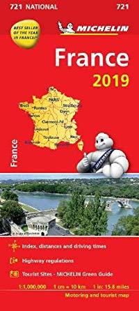 מפה MI צרפת 721 2019