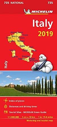 מפה MI איטליה 735 2019