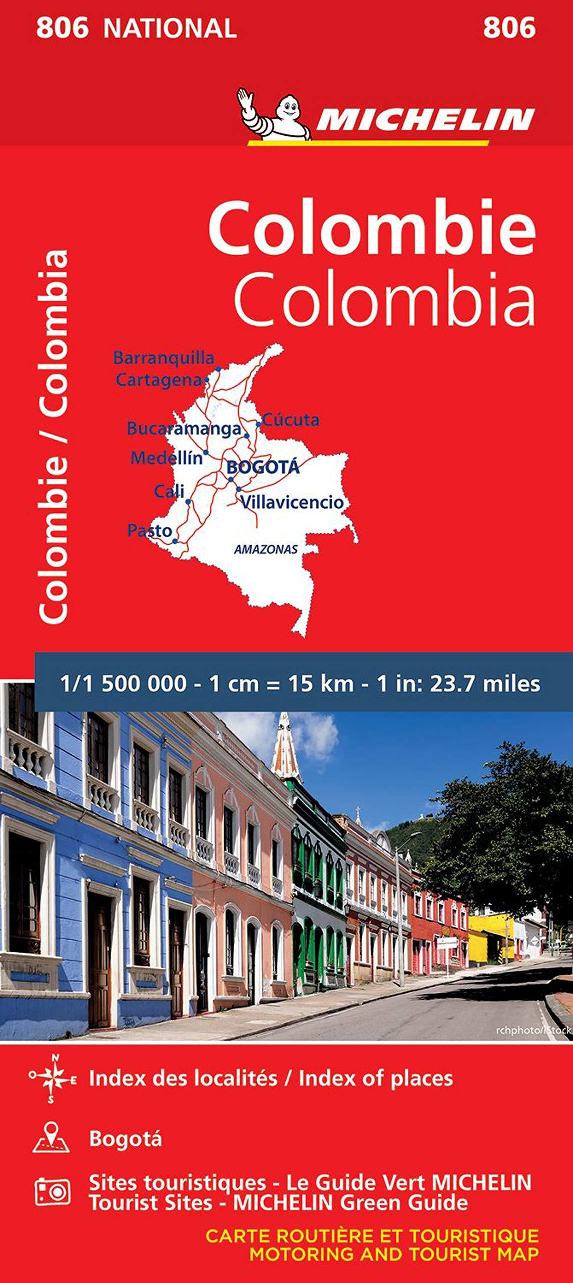מפה MI קולומביה 806