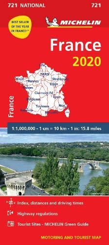 מפה MI צרפת 721 2020