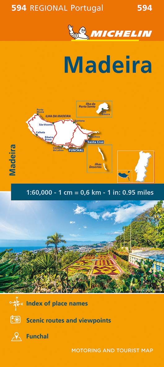 מפה MI מדיירה 594