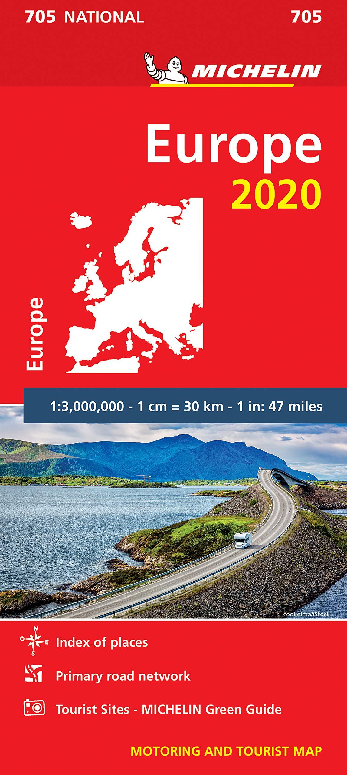 מפה MI אירופה 705 2020