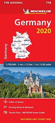 מפה MI גרמניה 718 2020