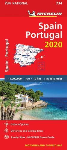 מפה MI ספרד ופורטוגל 734 2020