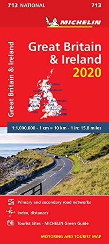 מפה MI בריטניה ואירלנד 713 2020
