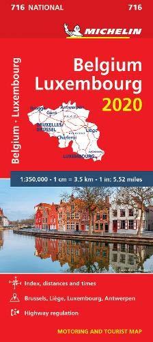 מפה MI בלגיה ולוקסמבורג 716 2020