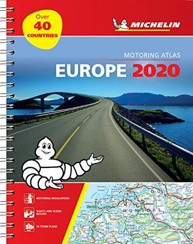 מפה MI אירופה 1136 אטלס 2020 ספירלי A4