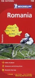 מפת רומניה 738 מישלן