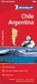 מפה MI צ'ילה וארגנטינה 788