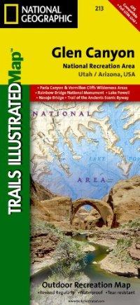 מפה NG גלן קניון, שמורה לאומית